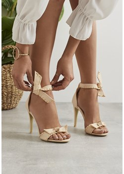 Beżowe Sandały Esmeralda Tone Multu promocja Multu.pl  - kod rabatowy