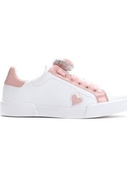 Białe Buty Sportowe Soft Heart Multu okazja Multu.pl  - kod rabatowy