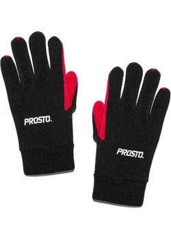 Rękawiczki Prosto Klasyk Gloves Pole black / red Prosto Klasyk matshop.pl - kod rabatowy