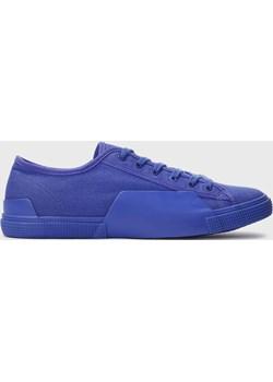 Niebieskie sneakersy męskie Kazar Studio okazja Kazar Studio - kod rabatowy