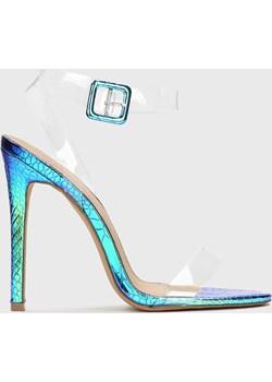 Niebieskie sandały damskie Kazar Studio wyprzedaż Kazar Studio - kod rabatowy