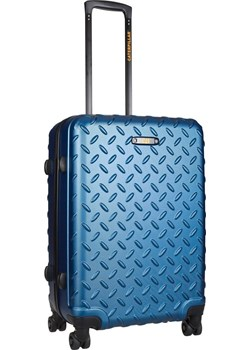 Walizka średnia Cat Caterpillar Industrial Plate 65 cm niebieska Cat - Caterpillar okazyjna cena Delcaso - kod rabatowy