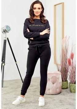 Bawełniana bluza - czarna Beewear - kod rabatowy