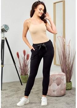 Spodnie bawełniane długie - czarne Beewear - kod rabatowy