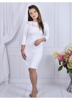Koszula nocna z koronką, szeroki wybór rozmiarów, Tawułka  Equlik eQulik - bielizna nocna - kod rabatowy