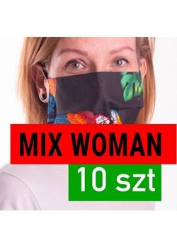 10 SZT - Maseczki ochronne z filtrem - wielorazowe, bawełniane -  SAFESHINO  - Pod palmami  Safeshino LUX4U.PL - kod rabatowy
