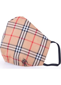 QART POSH Ekskluzywna Maseczka bawełniana z tkaniny sygnowanej BURBERRY Qart LUX4U.PL - kod rabatowy
