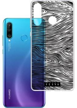 Etui amortyzujące uderzenia do Huawei P30 Lite, z unikatową grafiką 3D ferya FOREST Huawei 3mk - kod rabatowy