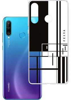 Etui amortyzujące uderzenia do Huawei P30 Lite, z unikatową grafiką 3D ferya LINE Huawei 3mk - kod rabatowy