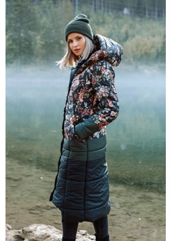 Długi płaszcz zimowy Reykjavik Run River S Naoko NAOKO - kod rabatowy