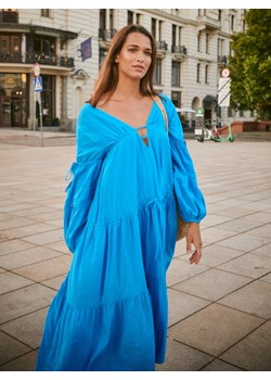 Sukienka MYKONOS blue Bycabo bycabo.com - kod rabatowy