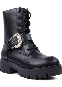 Skórzane trzewiki Brenda Dis.40 -  Versace Jeans Couture E0VZAS94 71570 899 okazja StepTop Polska - kod rabatowy