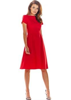 Awama Woman's Dress A282 Navy Blue Factcool - kod rabatowy