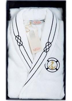 Luksusowy męski szlafrok MARINE MAN w ozdobnym opakowaniu Softcotton SoftCotton.pl - kod rabatowy