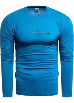 Bluza męska longsleeve Dynamic DG - niebieska Risardi Risardi - kod rabatowy