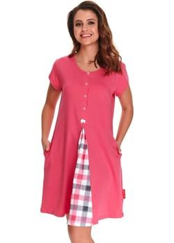 Koszula do karmienia i kangurowania 9703 pink Doctornap Piękny Brzuszek - kod rabatowy