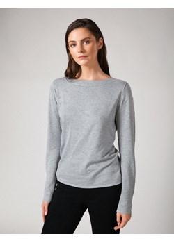 Szary sweter z wypustkami MOLTON Molton Molton - kod rabatowy