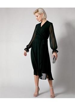 Elegancka kopertowa sukienka MOLTON Molton Molton okazyjna cena - kod rabatowy