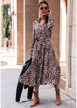 Sukienka Sabite - w cętki I Latika Butik Latika - kod rabatowy