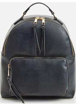 Reserved - Fakturowany plecak - Czarny Reserved   - kod rabatowy