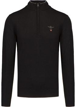 Sweter wełniany AERONAUTICA MILITARE Aeronautica Militare S'portofino - kod rabatowy