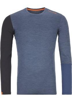 Koszulka Ortovox 185 Rock'n'wool Long Sleeve night blue blend Ortovox promocja Snowboard Zezula - kod rabatowy