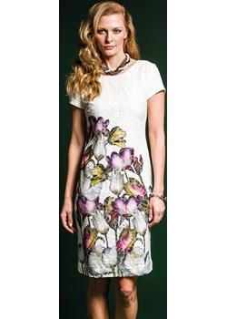 TULI koronkowa sukienka w kwiatowy wzór Risca 40 Risca okazja RiscaShop - kod rabatowy