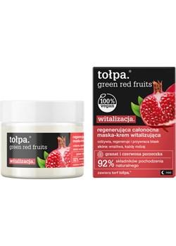 regenerująca całonocna maska-krem witalizująca, 50 ml Tołpa promocyjna cena tolpa.pl - kod rabatowy