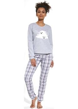 Bawełniana piżama damska Cornette 671/260 seals szara Cornette promocja bodyciao - kod rabatowy