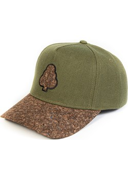 Korkowy snapback Zielony Woodfi Woodfi - kod rabatowy