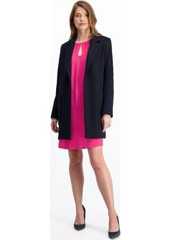 Granatowy płaszcz damski Loli Sofia 84992 Lavard okazyjna cena Lavard - kod rabatowy