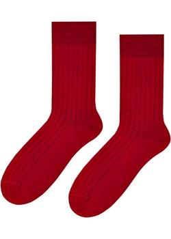 Skarpetki klasyczne z wełny merynosa bordowe Regina Socks Estera Shop - kod rabatowy