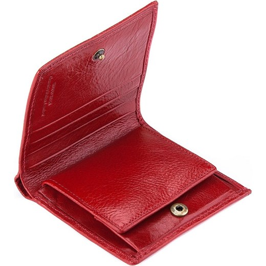 287ad058099ee ... 22-1-065-3 Portfel wittchen czerwony naturalne ...