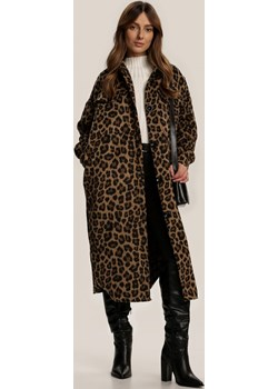 Brązowy Płaszcz Snowtwig Renee Renee odzież - kod rabatowy