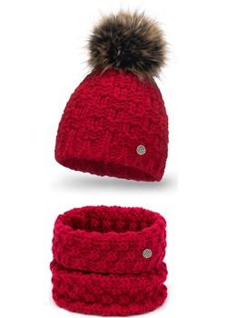Modny zimowy komplet damski- czapka i komin Pamami PaMaMi - kod rabatowy