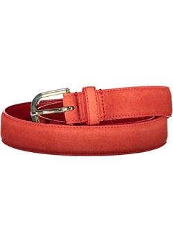 GANT Pasek Skórzany Damski (Czerwony) Gant Size4U - kod rabatowy