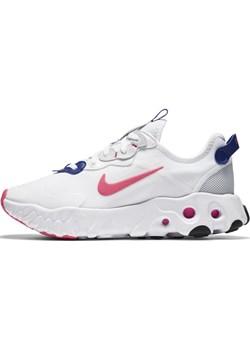 Buty damskie Nike React Art3mis - Biel Nike Nike poland - kod rabatowy