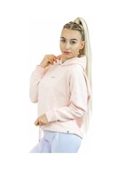 Bluza Dresowa Pink Melange S Boco Wear okazyjna cena - kod rabatowy