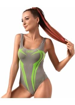 Body bezszwowe GREY FLUO WARRIOR XS promocja Boco Wear - kod rabatowy