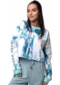 Bluza dresowa ULTRA BABE Blue Tie Dye S/M Boco Wear wyprzedaż - kod rabatowy