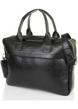 Męska torba na laptop teczka brodrene b03 czarny Brødrene Brodrene - kod rabatowy