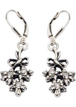 Kolczyki srebrne z cyrkoniami K 1646 Polcarat Design   - kod rabatowy