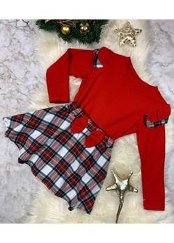 Sukienka Dziewczęca Celia Red Vanilove - kod rabatowy