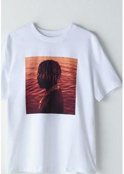 Cropp - Koszulka oversize Lil Yachty -  Cropp  okazja  - kod rabatowy