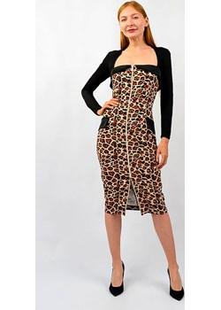 Sukienka w panterkę od Babylon Glamwear - kod rabatowy