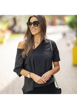 Koszulka Bawełniana Palermo Czarna Ciao Bella S.c. wyprzedaż Ciao Bella - z myślą o Tobie - kod rabatowy