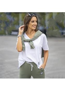 Koszulka Bawełniana Palermo Biała Ciao Bella S.c. wyprzedaż Ciao Bella - z myślą o Tobie - kod rabatowy