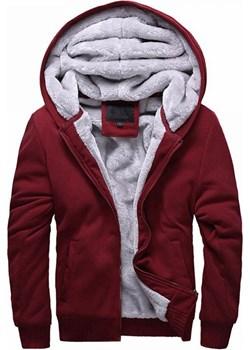 Męska bluza ROB BORDO okazja Ivet Shop - kod rabatowy