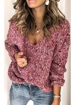 Sweter damski TERMIDA PINK promocja Ivet Shop - kod rabatowy