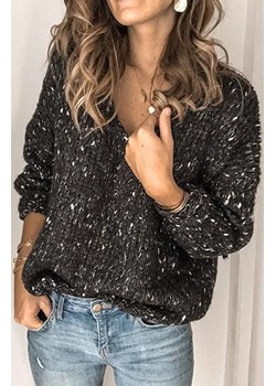 Sweter damski TERMIDA BLACK okazyjna cena Ivet Shop - kod rabatowy